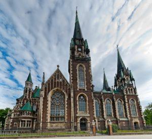 Костел святых Ольги и Елизаветы во Львове