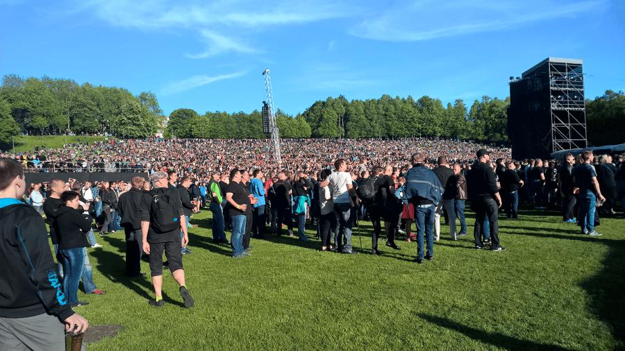 Рамштайн в Таллине
