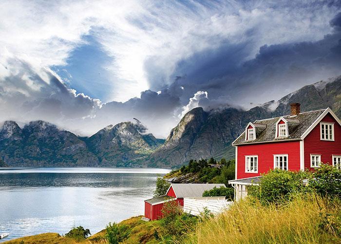 скандинавия фьорды норвегия дания швеция