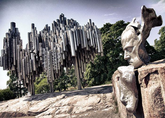 Монумент Яну Сибелиусу - памятник-орган в Хельсинки