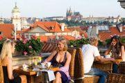 Рестораны Праги с открытой террасой