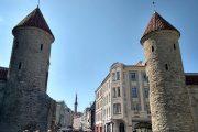Главный вход в Таллинн через улицу Виру охраняют две башни
