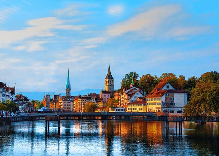 Поездка на неделю в Швейцарию без ночных переездов