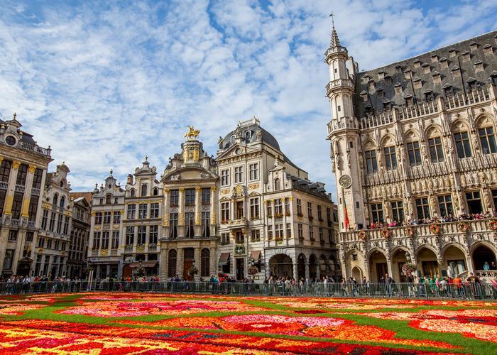 Берлин-Брюссель-Амстердам за 6 дней без ночных переездов