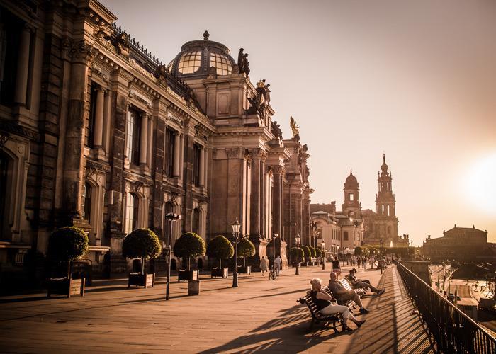 Берлин - Амстердам - Дрезден