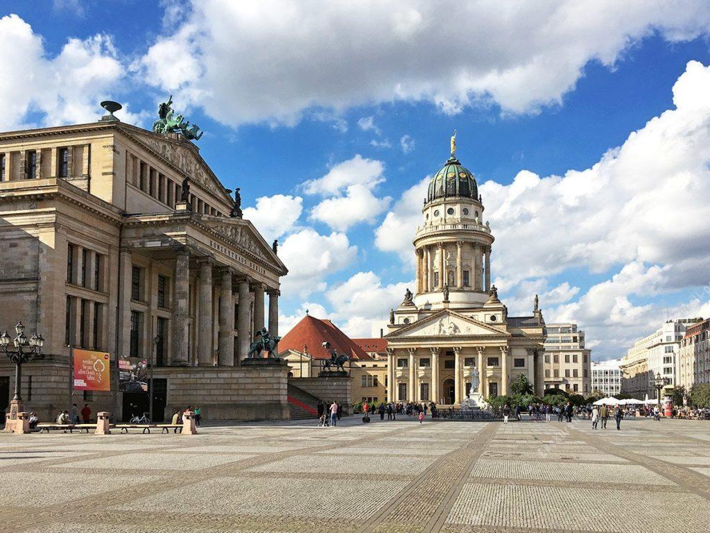 Берлин Концертный зал площадь