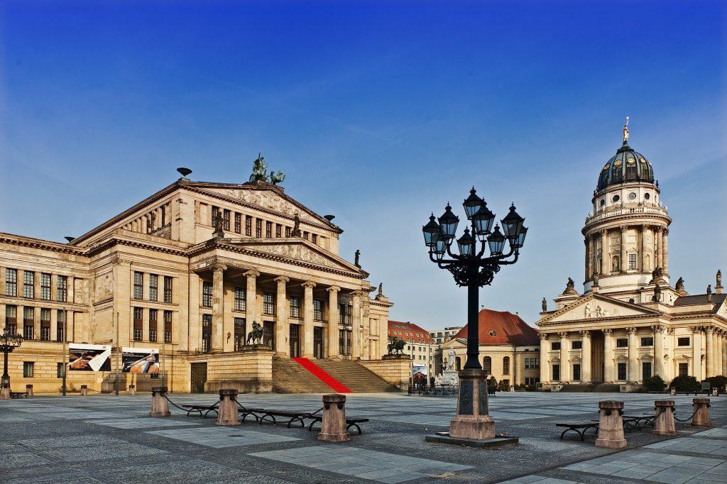 Берлин площадь Жандарменмаркт