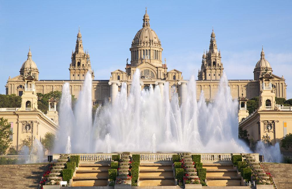 Барселона фонтаны