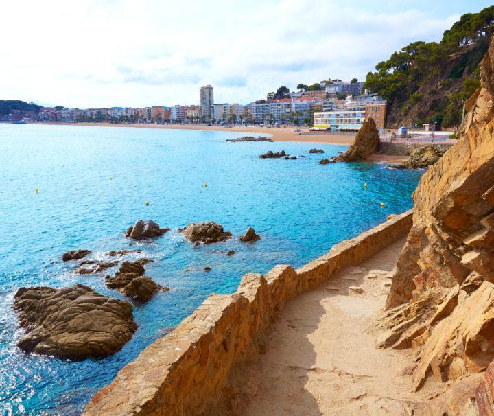 Ллорет де Мар пляж