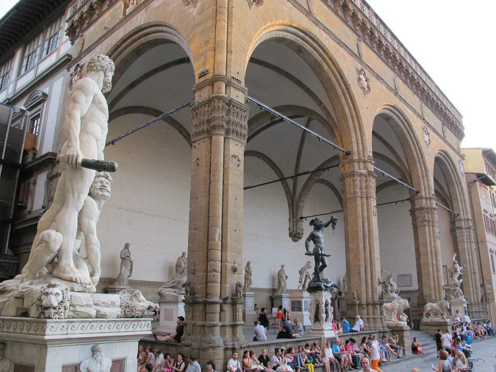 площадь Синьории Флоренция
