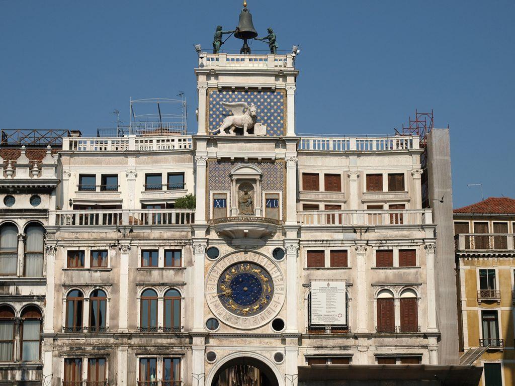 Венеция Часовая башня