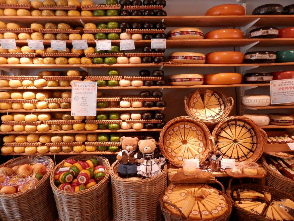 Сырная лавка Амстердам