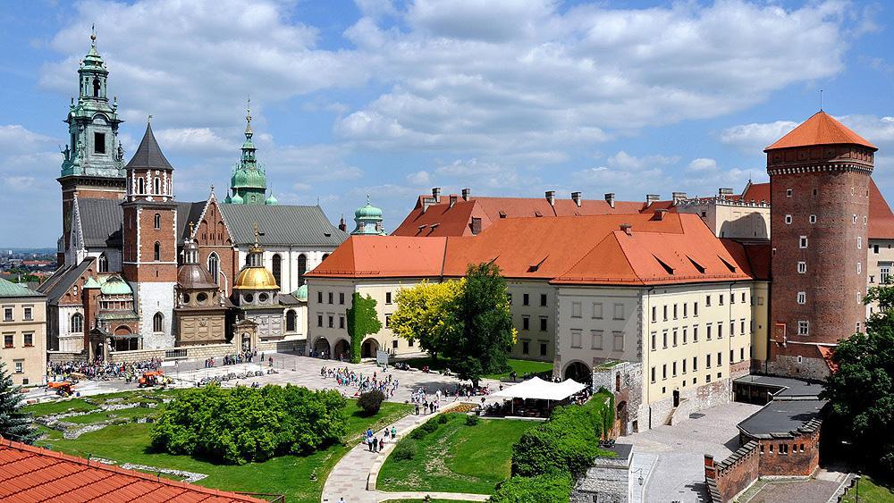 Краков Королевский дворец
