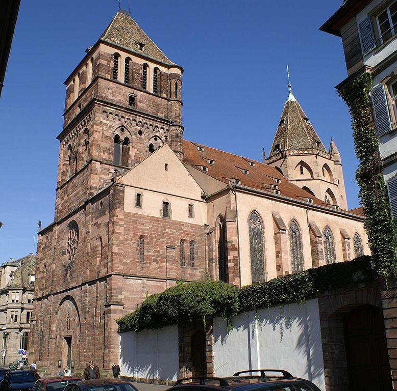 Страсбург Собор святого Фомы