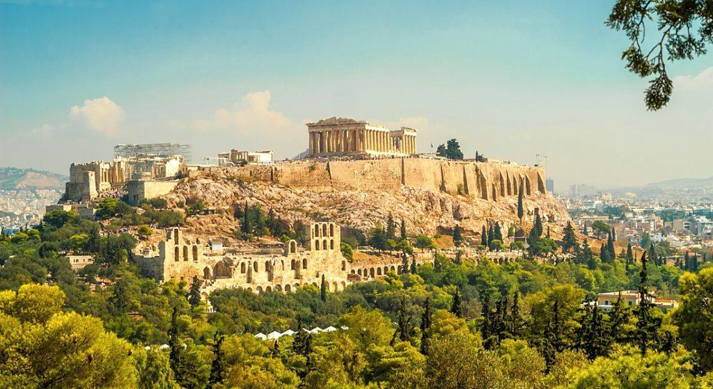 Афины панорама
