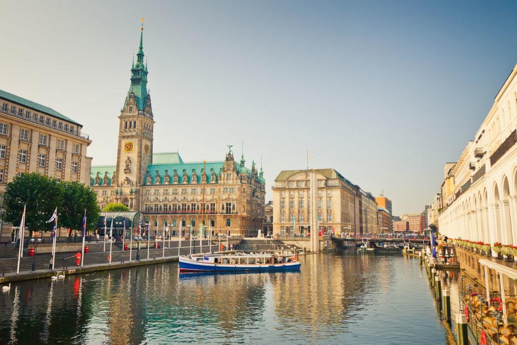 пристань Гамбурга