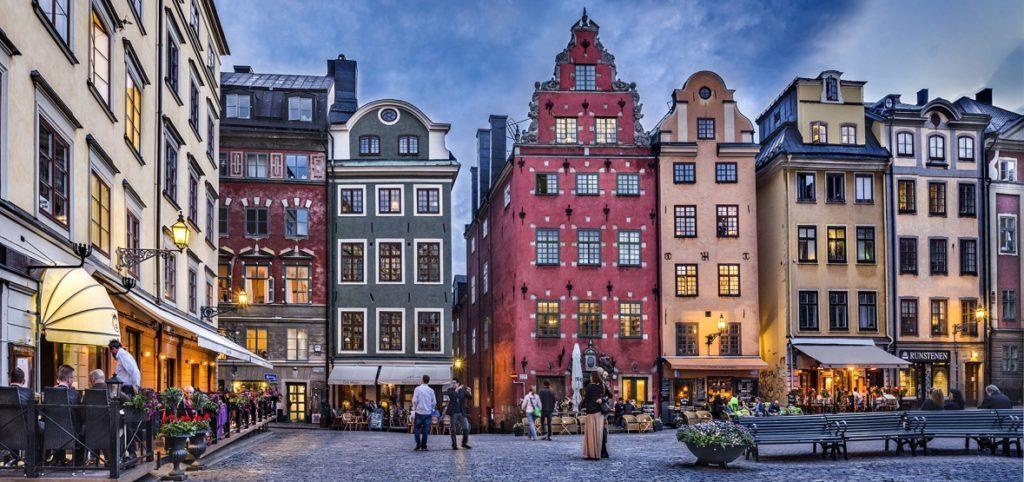 Старая площадь Стокгольма
