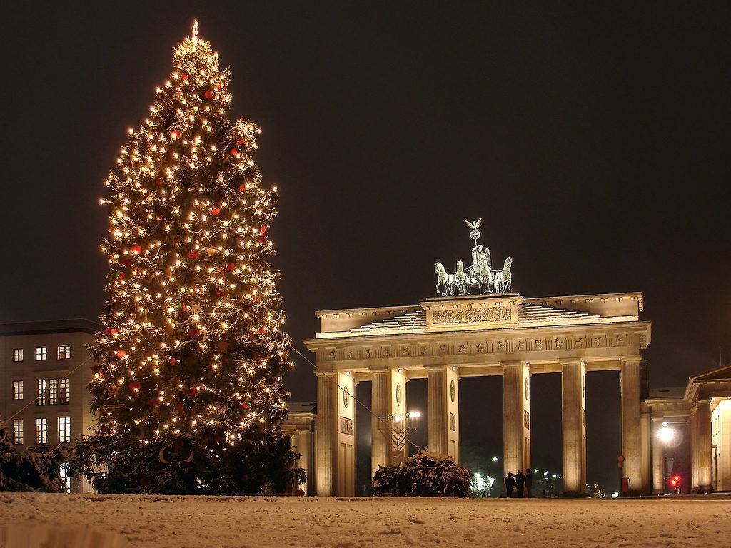 Берлин Бранденбургские ворота