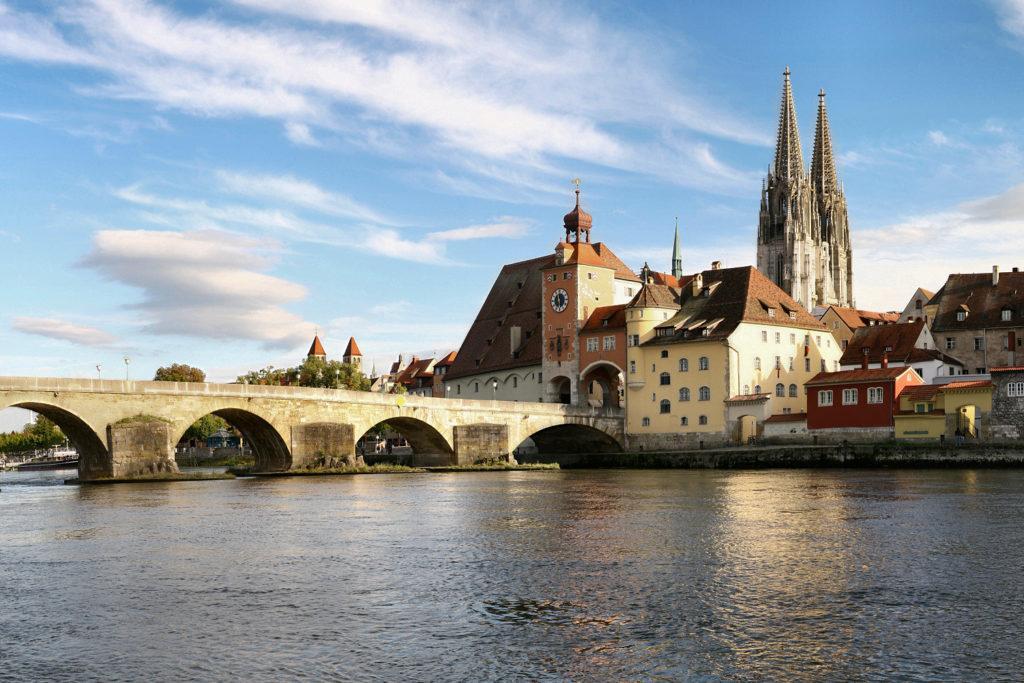 мост в Регенсбурге