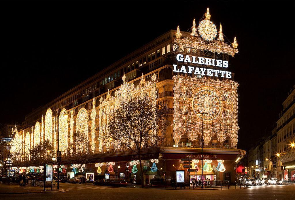 Галерея Лафайет Париж