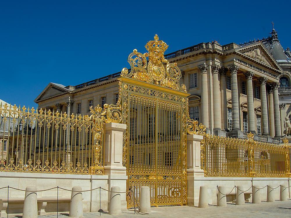 ворота в Версаль