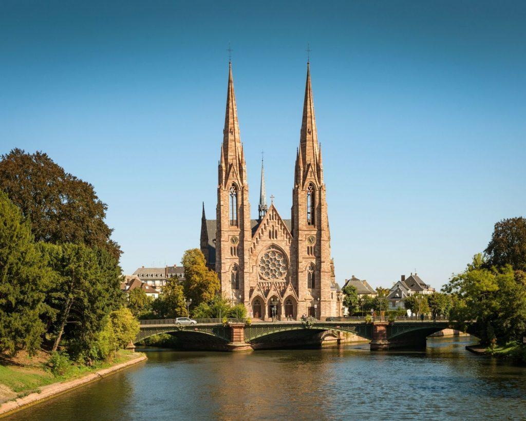 собор святого Павла в Страсбурге