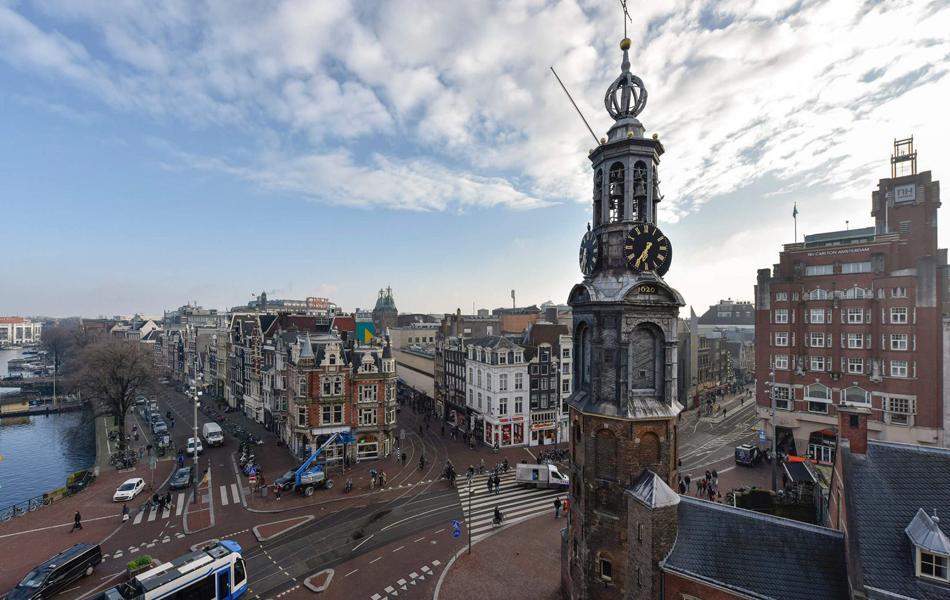 Монетная площадь в Амстердаме