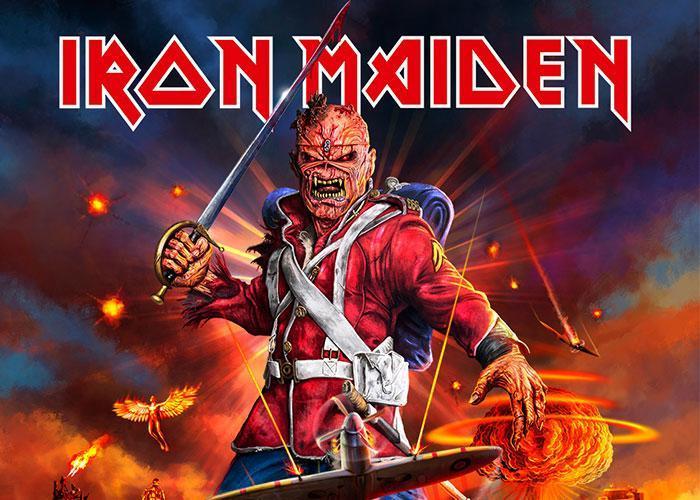 концерт Iron Maiden в Варшаве