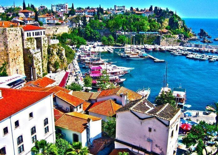 Турция Анталия побережье