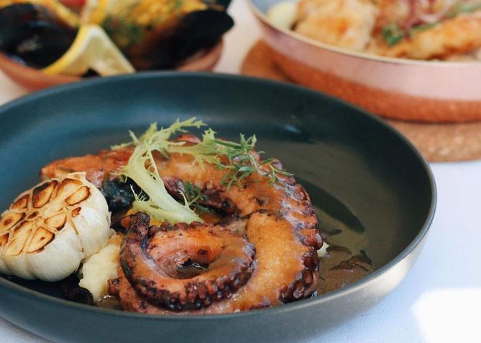 Морские блюда в Турции