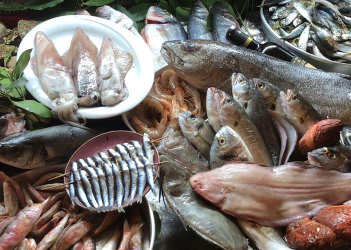 свежая рыба в Турции