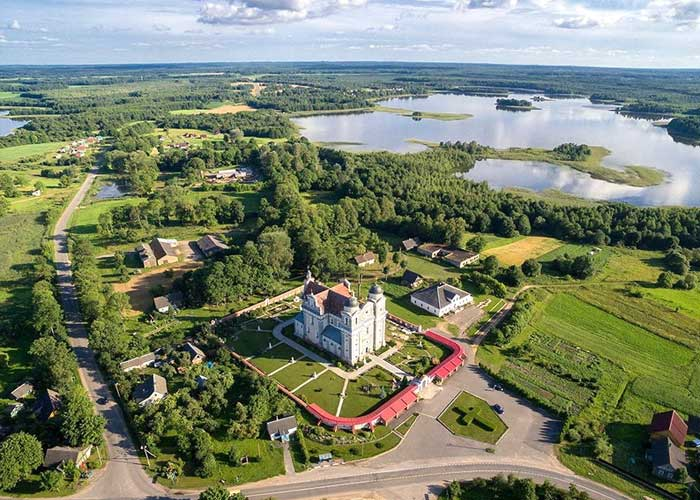 храмы Беларуси - экскурсия по Витебской области