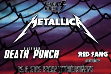 Металлика в Праге