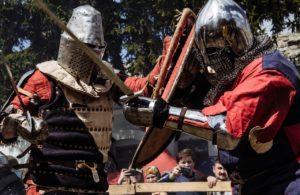 средневековые бои дуэли