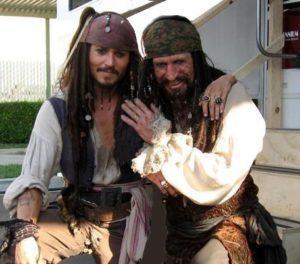 Johnny Depp e Keith