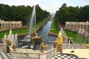 фонтаны Петергоф экскурсионный тур