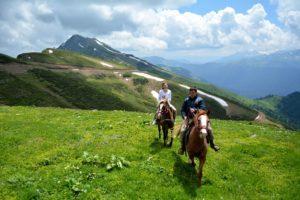 конные прогулки в карпатах