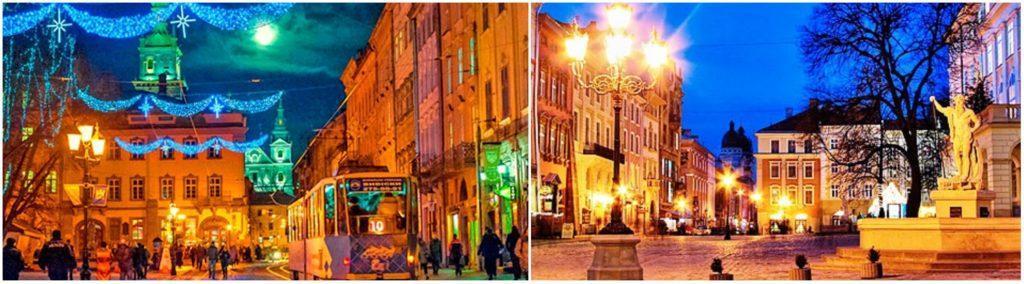 Новогодний тур Украина