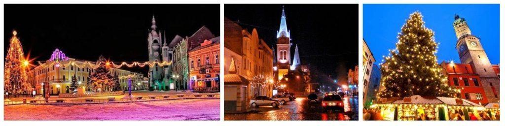 Новый год в Мукачево Закарпатье