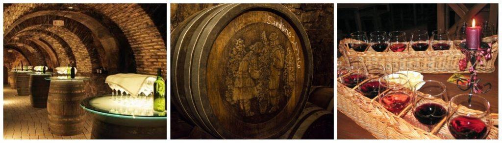 Дегустация вина в новогоднем туре по Закарпатью